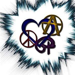 PeaceLoveAnarchyLogo8